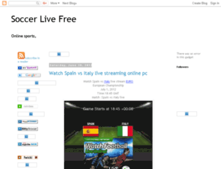 soccer-live-free-tv.blogspot.com screenshot