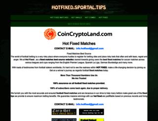 soccer-tip.sportal.tips screenshot