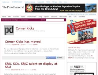 soccer.blogs.pressdemocrat.com screenshot