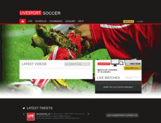 soccer.livesport.tv screenshot