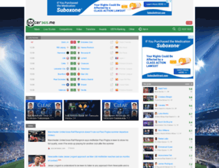 soccer365.me screenshot