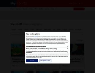 socceram.com screenshot
