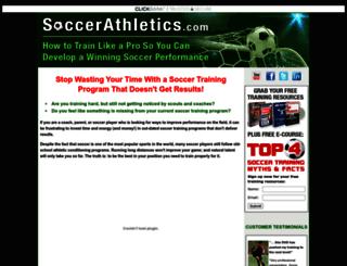soccerathletics.com screenshot