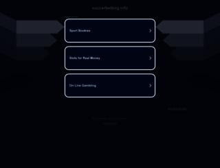 soccerbetting.info screenshot