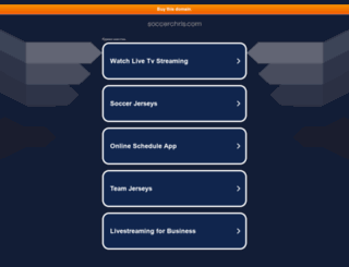 soccerchris.com screenshot