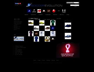 soccerevolution.com screenshot
