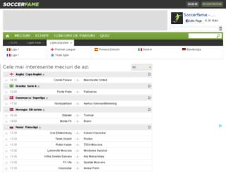 soccerfame.ro screenshot