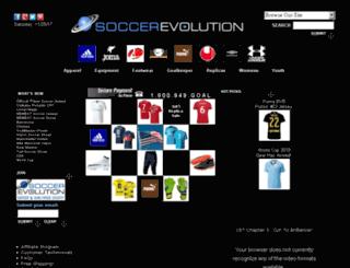 soccerfans.com screenshot