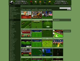 soccergames10.com screenshot