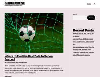 soccerhene.com screenshot