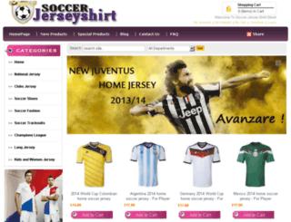 soccerjerseyshirt.com screenshot