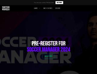 soccermanager.com screenshot