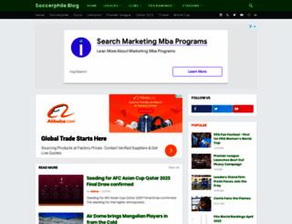 soccerphile.blogspot.com screenshot