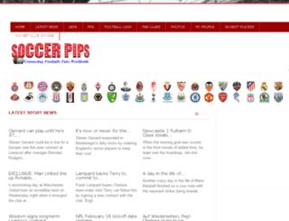 soccerpips.com screenshot