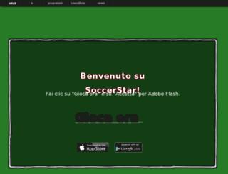 soccerstar.mtv.it screenshot