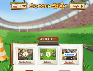 soccerstar.pl screenshot