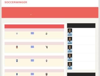 soccerwinger.com screenshot
