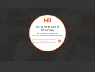 social-artworking.com screenshot
