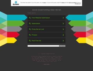 social-bookmarking-sites-list.net screenshot