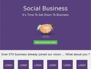 social-business.solutiisoft.com screenshot