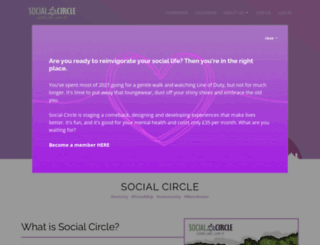 social-circle.co.uk screenshot