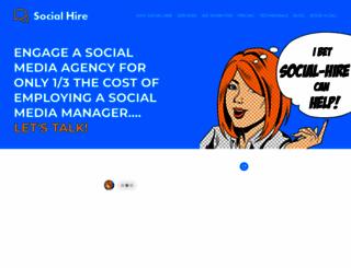 social-hire.com screenshot