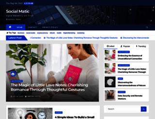 social-matic.com screenshot