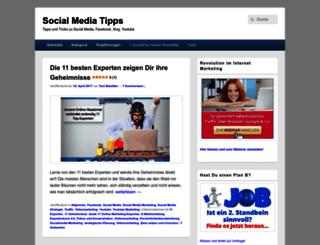 social-media-tipps.net screenshot
