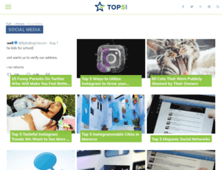 social-media.top5.com screenshot