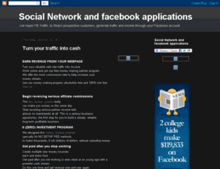 social-network-facebook-applications.blogspot.com screenshot
