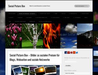 social-picture-box.de screenshot