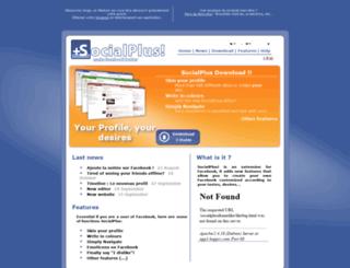 social-plus.net screenshot