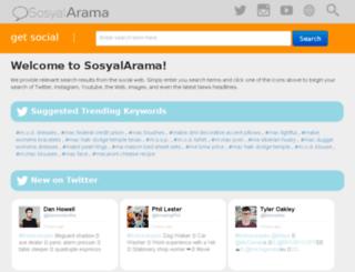social-search.ibuildwebsite.com screenshot