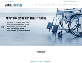 social-securitydisability.net screenshot