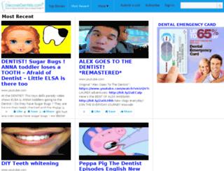 social.discoverdentists.com screenshot