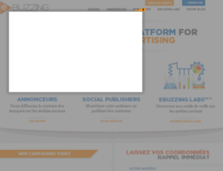social.ebuzzing.fr screenshot