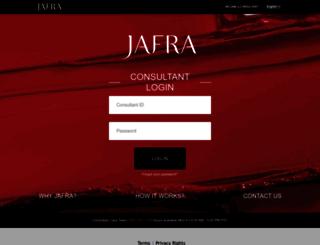 social.jafra.com screenshot