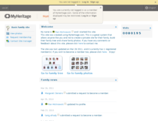 social.myheritage.com screenshot