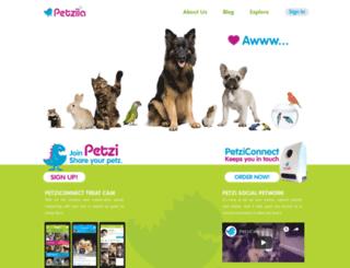 social.petzi.com screenshot