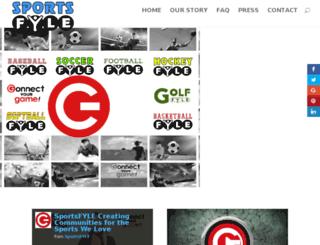 social.sportsfyle.com screenshot