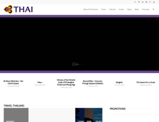 social.thaiairways.com screenshot