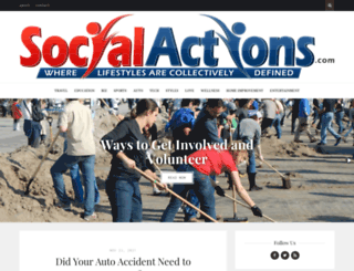 socialactions.com screenshot