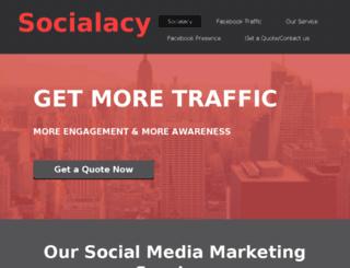 socialacy.com screenshot