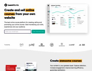 socialanxietyacademy.learnworlds.com screenshot