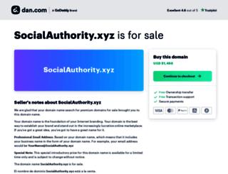 socialauthority.xyz screenshot