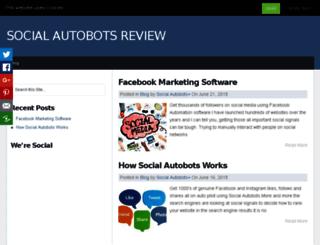 socialautobotsreview.net screenshot