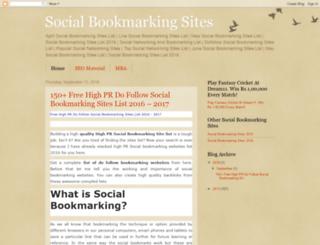 socialbookmarkingsites13.blogspot.in screenshot