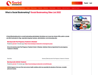 socialbookmarkingwebsite.com screenshot