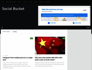 socialbucket.net screenshot