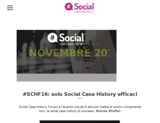 socialcasehistoryforum.com screenshot